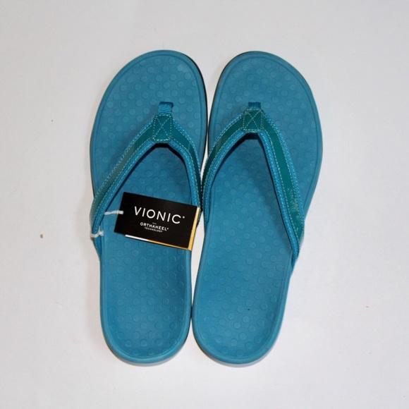 02d3dba5fd3a NWT Vionic orthopedic Toe Post Sandals